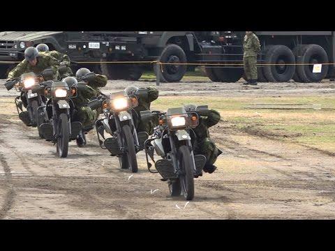 【バイクアトラクション】平成27年度 第1師団練馬駐屯地創立記念行事