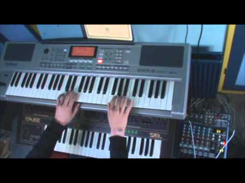 One Final Graven Kiss/A Crescendo of Passion Bleeding (Cradle of Filth keyboard cover)