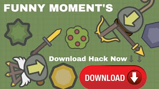 Moomoo.io: Link for Insta Kill Hack | Epic 4v1 | FUNNY MOMENTS | FT.MERCY