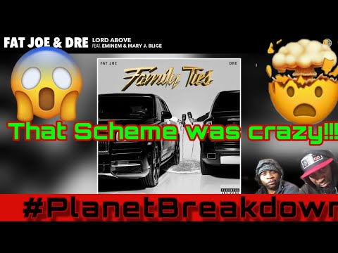 FAT JOE & DRE FT EMINEM & MARY J BLIGE  | LORD ABOVE | REACTION | PLANET BREAKDOWN