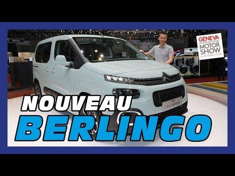 Nouveau Citroën Berlingo - Salon de Genève 2018