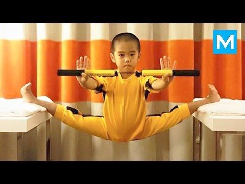 Baby Bruce Lee  Ryusei Imai  Muscle Madness