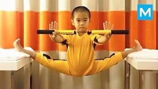 Repeat youtube video Baby Bruce Lee - Ryusei Imai | Muscle Madness