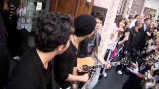 Jonas Brothers Behind The Scenes World Tour 2009 Part 8