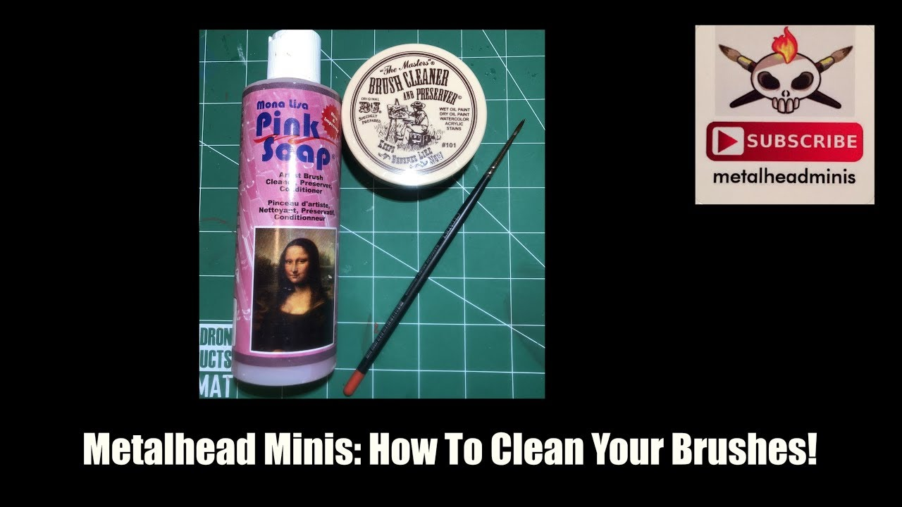 Metalhead Minis: How to Clean Your Brushes!