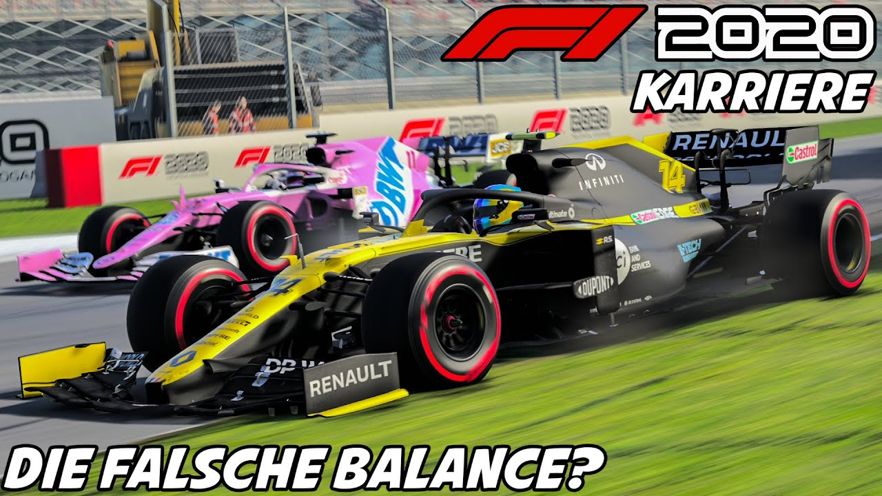 F1 2020 Karriere #15: Die Falsche Balance? | Formel 1 2020 Fernando Alonso Gameplay German