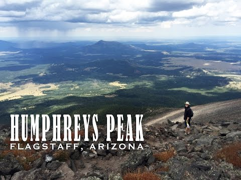 Hiking Humphreys Peak - Highest point in Arizona - Epic Hike!