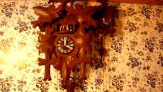 Three Door Drgm Musical Cuckoo Clock Restored
