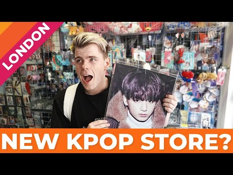 A New Kpop Store In London? | Vlog