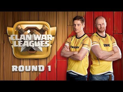 Clan War Leagues - TH12 Attacks - Clash of Clans - Round 1