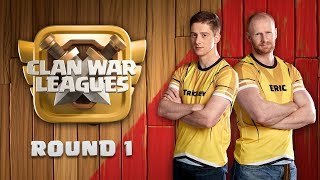 Clan War Leagues TH12 Attacks Clash of Clans Round 1