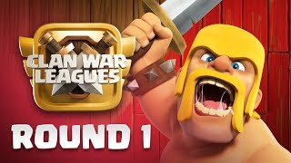 Clan War Leagues - TH12 Attacks - Clash of Clans - Round 1 thumbnail