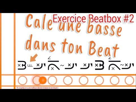 Exercice de beatbox #2 - Inward snare et bass vomie dans un rythme !