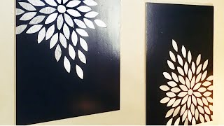 How to make a Wall Decor / DIY / Super Easy Decor
