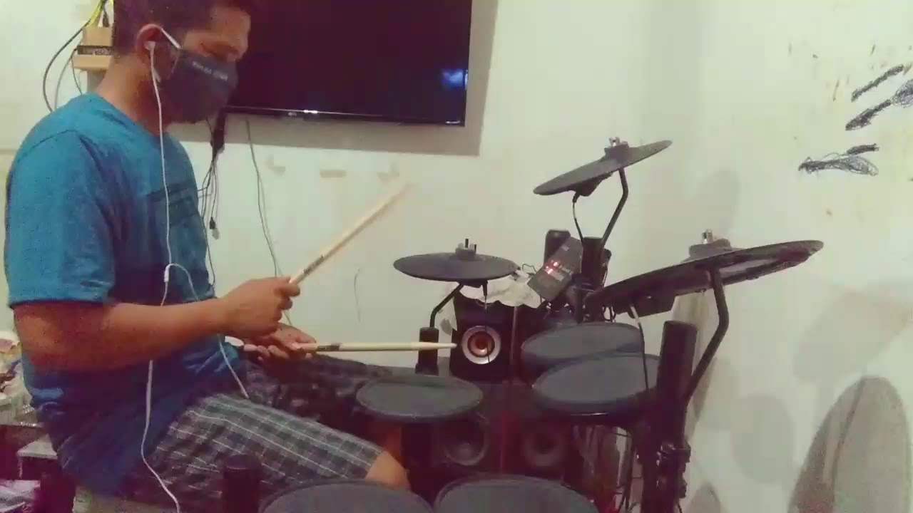 JENNIE - 'SOLO'(Drum Cover)by Rusman79 ATL