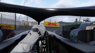 F1 2018 Realism Mode (100% RACE + NO HUD + COCKPIT + TRACKIR)