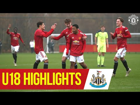 U18 Highlights | Manchester United 4-1 Newcastle | The Academy