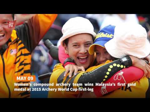 A look at some of Malaysia's sports news headlines this year