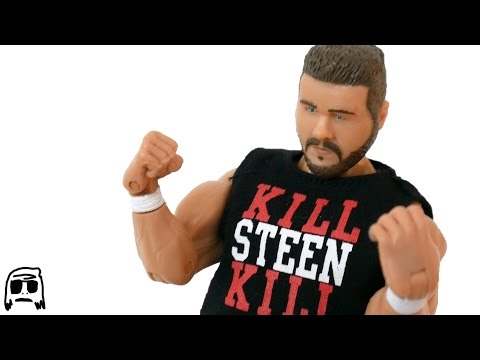 Kevin Steen ROH Wrestling Figure Toy Company Toy Review!!