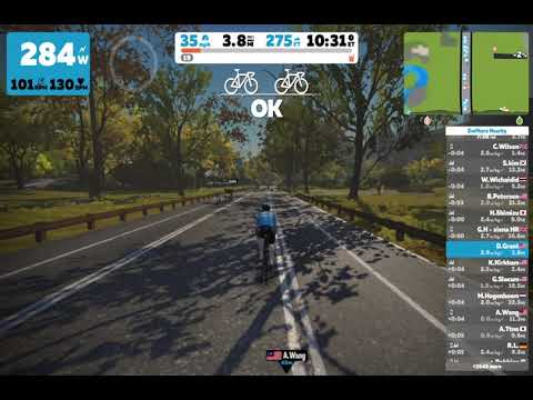 Zwift Cycling - Central Park Loop - PR