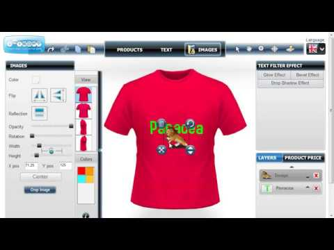 Custom T Shirt Design Software Is A Best Web2print Solution Youtube