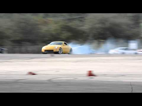 Jimmy Yates 350z Drifting Lone Star Drift Series Round 5 2012