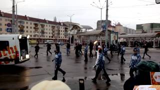 Олимпийский огонь в Белгороде. Емельяненко(, 2014-01-17T08:48:10.000Z)