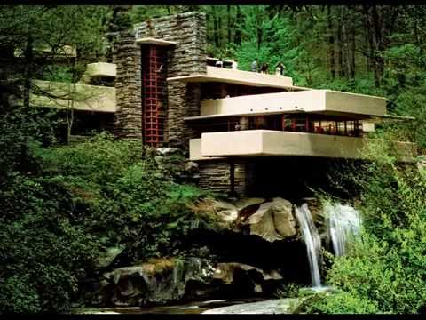 Frank Lloyd Wright American Architect Walking on Water MUSIC