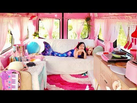 馃巰 If I Lived in a Barbie Dream Camper 馃巰
