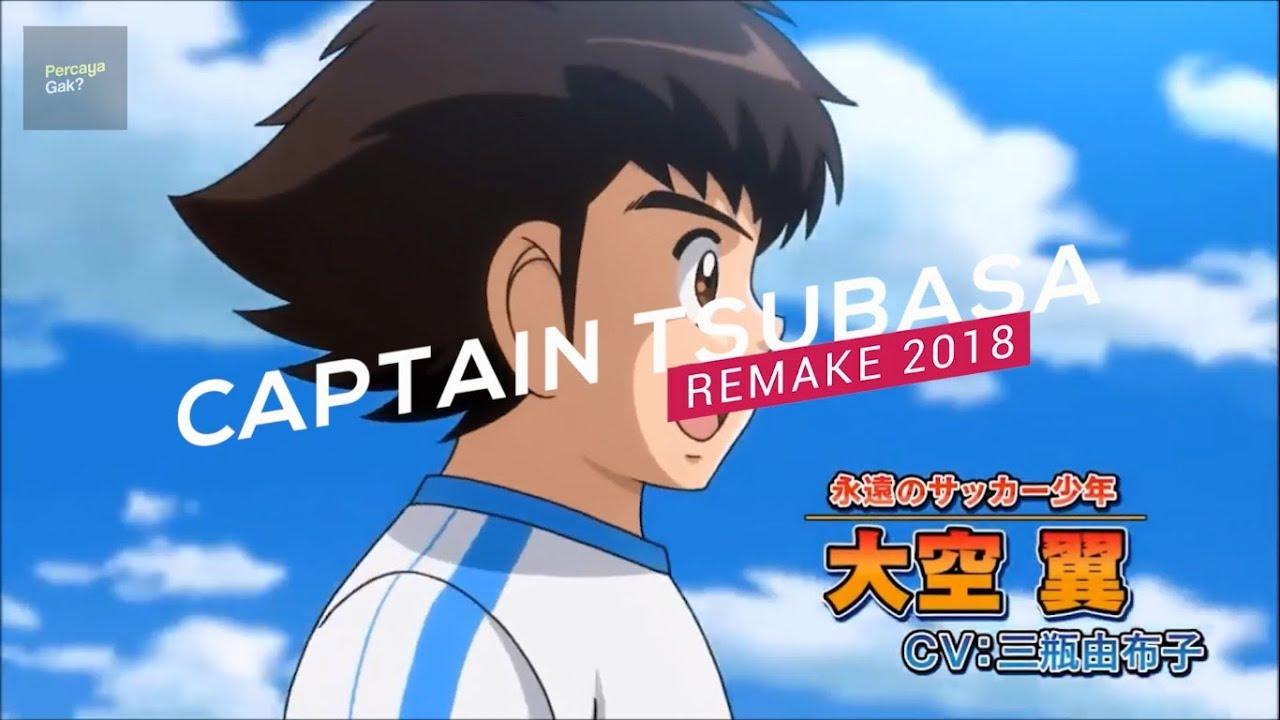 Akhirnya captain tsubasa remake akan tayang tahun 2018 official trailer