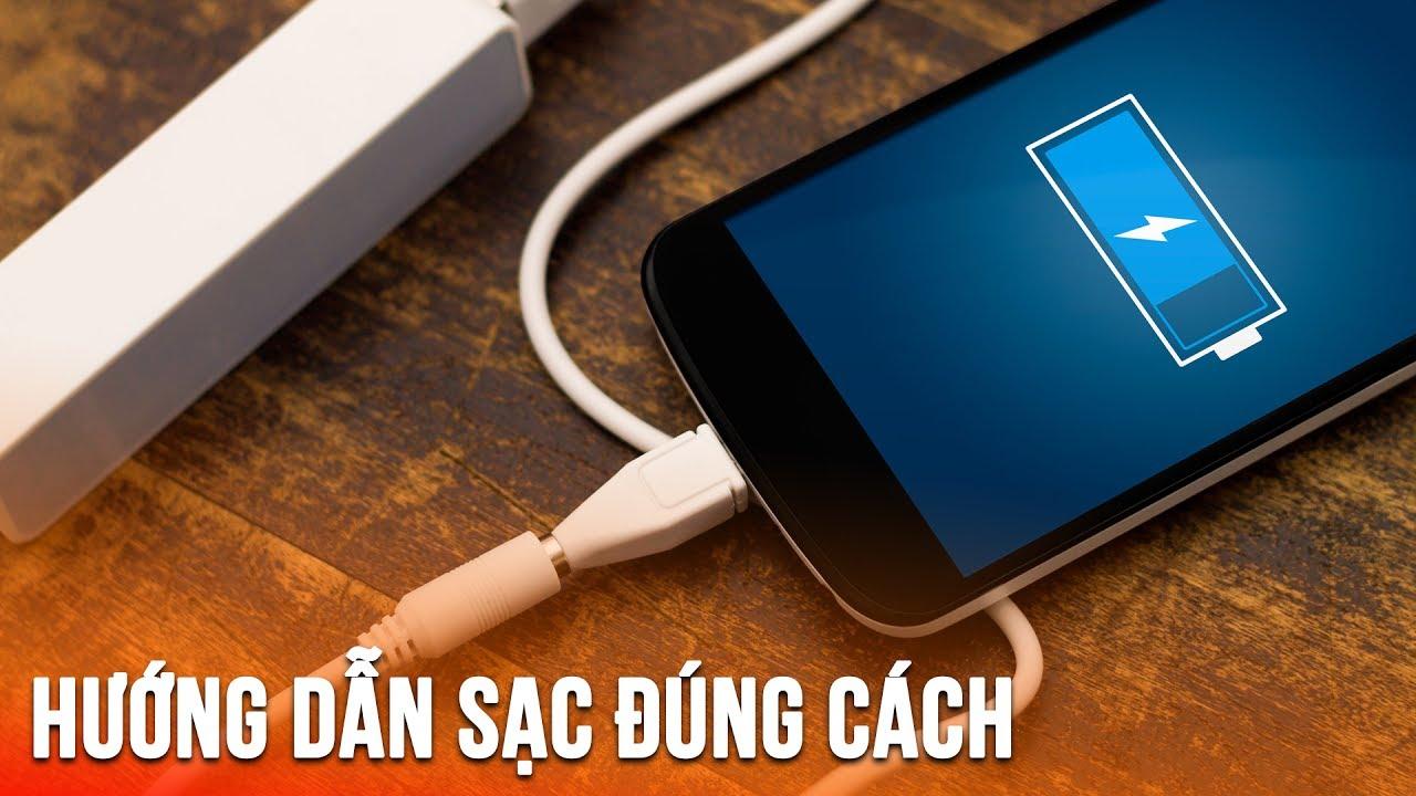 Mẹo Chuẩn Hay || Sạc pin điện thoại như nào cho đúng để pin không bị chai?