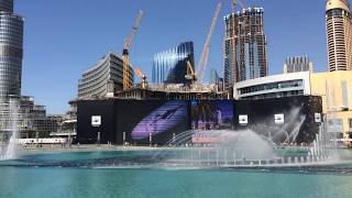Water Music daytime Dubai Fountain January 29 2015