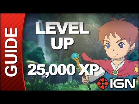 Ni No Kuni Walkthrough - Easily Level Up (25,000 XP)
