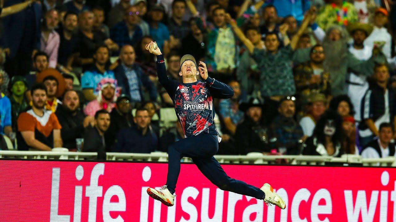 INCREDIBLE Fielding from Jordan Cox 🤯 Spectacular Leap! #Shorts