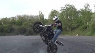 Benjamin Baldini  stunt riding 2016  just for fun