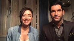 Tom Ellis and Aimee Garcia live stream on Facebook