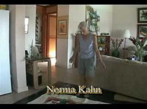 Demo of Norma Kahn painting artist narrative