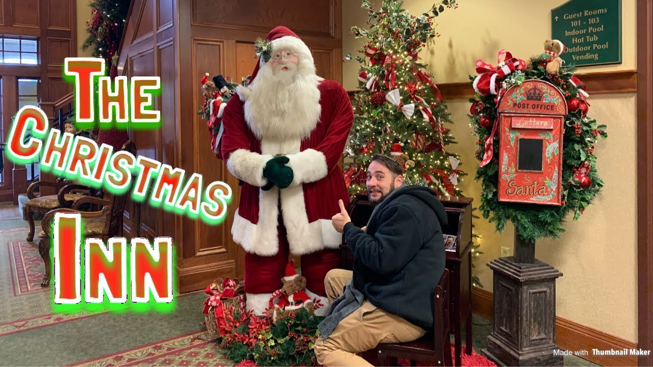 The Christmas Inn Pigeon Forge Tn Youtube