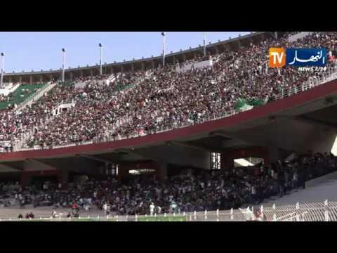 الأجواء بملعب 5 جويلية قبل النهائي القاري بين الجزائر والسنغال