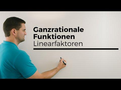 Ganzrationale Funktionen, Linearfaktoren, Funktionsterme, Schreibweisen | Mathe by Daniel Jungиз YouTube · Длительность: 5 мин13 с