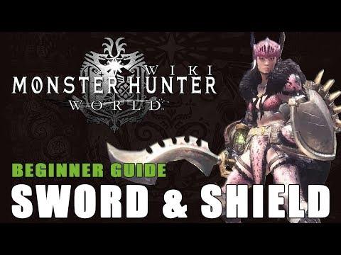 Sword and Shield Beginner Guide: Monster Hunter World