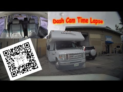 Mini 0906 Dash Cam Parking Mode Time Lapse In Front Of Shop