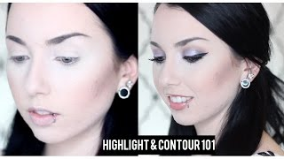 HOW TO: HIGHLIGHT AND CONTOUR YOUR FACE [PALE SKIN]