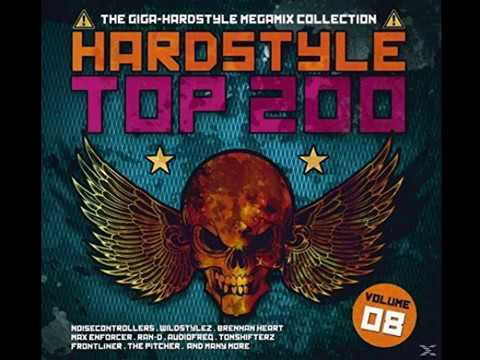 VA - Hardstyle Top 200 Vol.8 (2015) 4CD'S