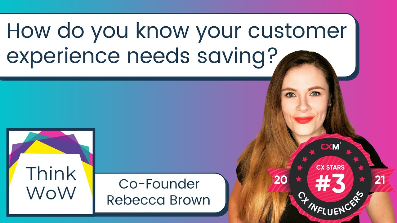 How do I know if my customer experience is good enough?