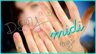 ♥ D.I.Y. ♥ Midi/Knuckle Rings! Thumbnail