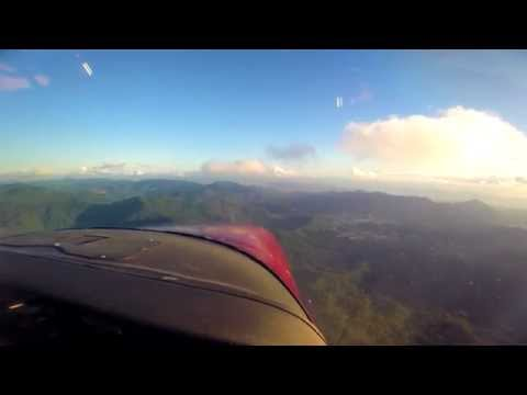 piarco approach and landing in cessna 182