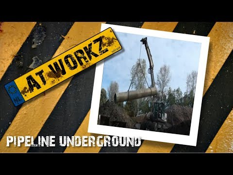 working at pipeline underground ( the sewer) in hd