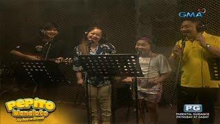 vuclip Pepito Manaloto: Manaloto family, the jingle singers!