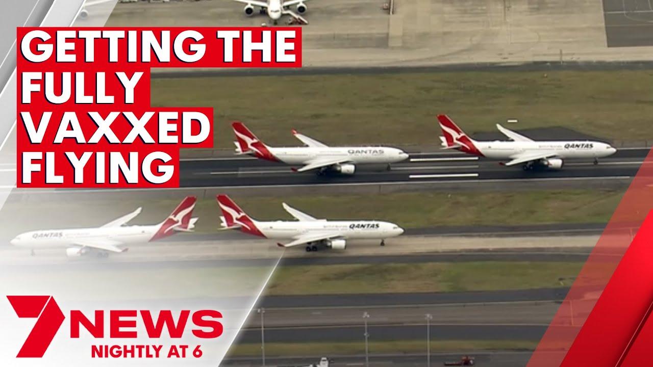 Qantas has revealed their plans for post-COVID lockdown   7NEWS
